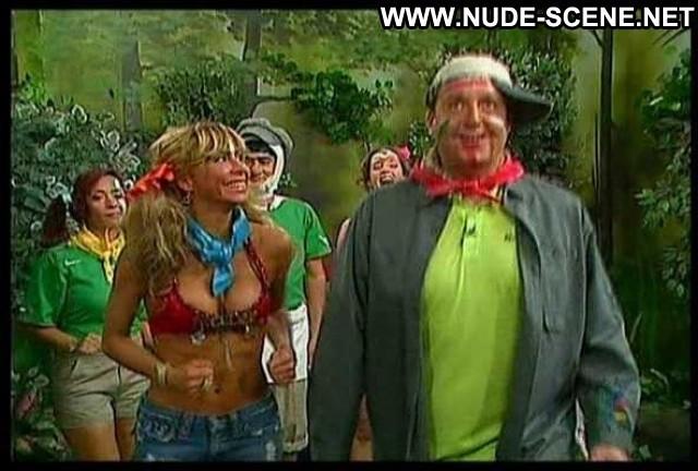 Aylin Mujica No Source Breasts Nipslip Big Tits Bikini Shorts