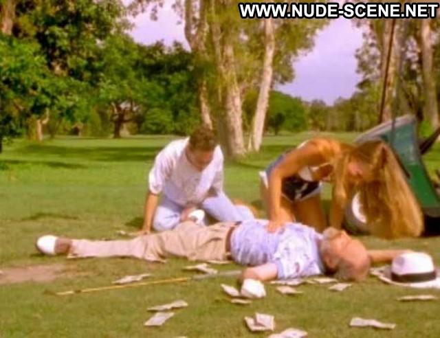 Christy Tummond Golf Balls Shorts Bra Big Tits Celebrity Breasts