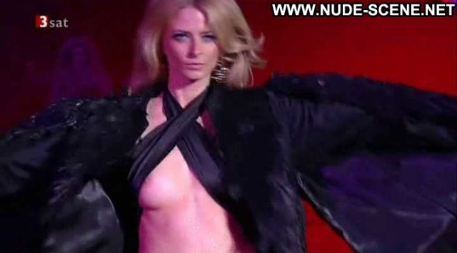 Eva Padberg Life Ball Celebrity Nipslip Black Breasts Big Tits