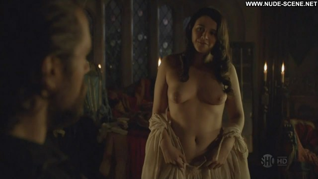 Selma Brook The Tudors Celebrity Bed Breasts Big Tits