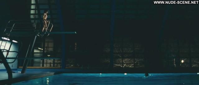 Zooey Deschanel Gigantic Breasts Pool Topless Summer Celebrity Big