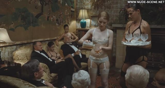 Emily Browning Sleeping Beauty  Bush Nipples Lingerie Black Breasts