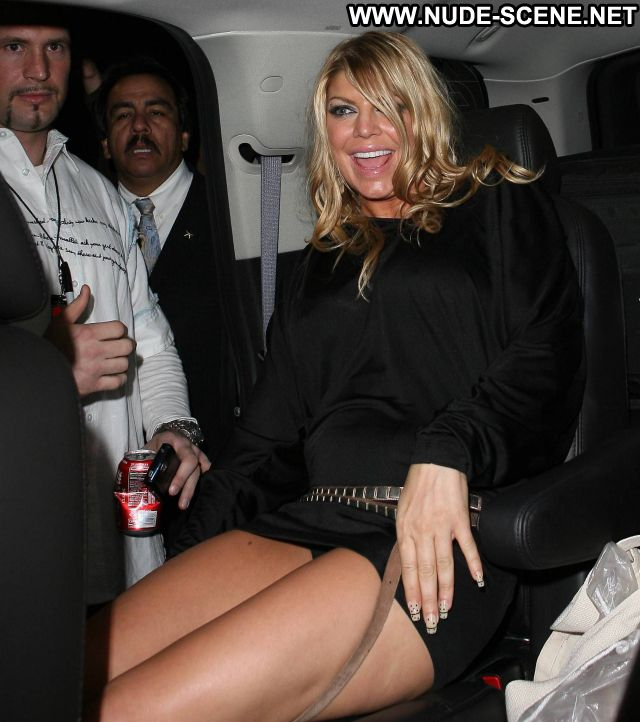 Fergie No Source Singer Ass See Through Showing Ass Thong Celebrity