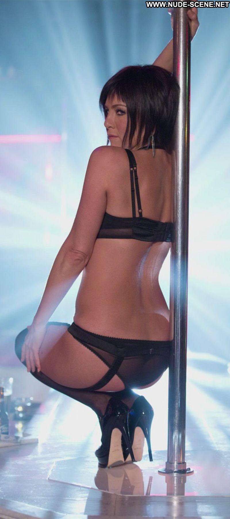 Jennifer Aniston No Source Celebrity Posing Hot Stockings -7559