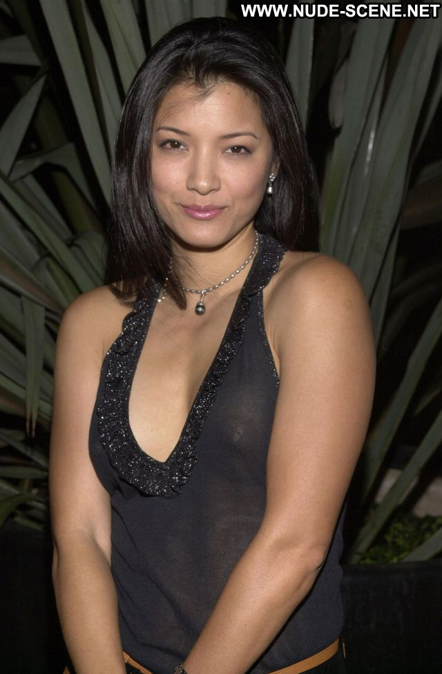 Kelly Hu No Source Posing Hot Asian Celebrity Tits Celebrity Nude