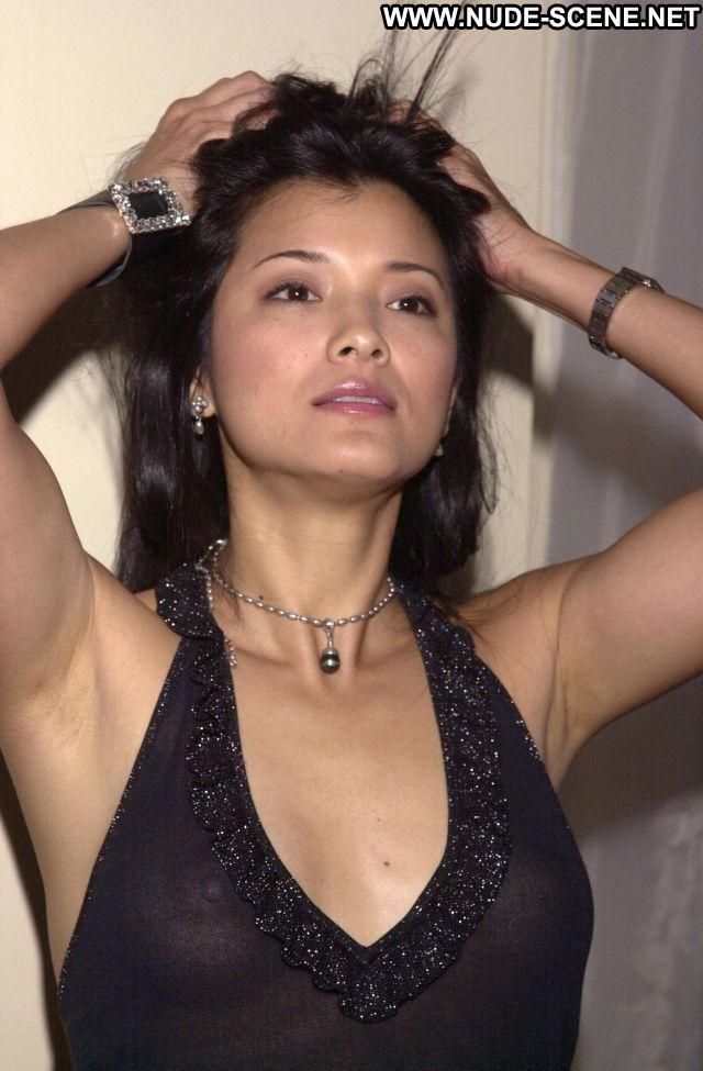 Kelly Hu No Source Celebrity Posing Hot Celebrity Nude Scene Asian