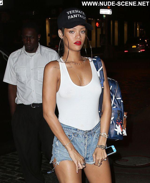 Rihanna No Source See Through Tits Nude Posing Hot Showing Tits