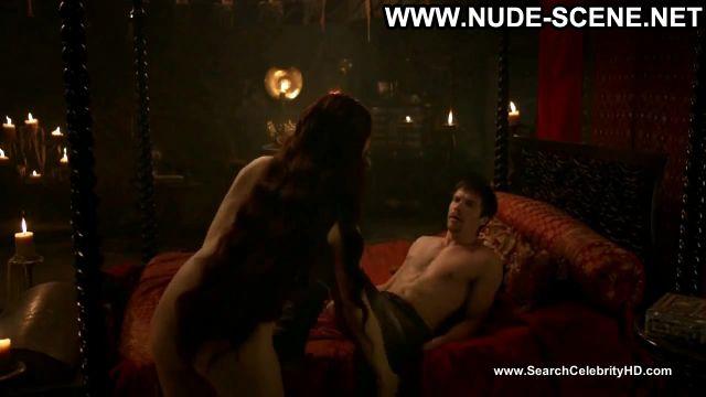 Carice Van Houten Nude Sexy Scene Game Of Thrones Tied Up