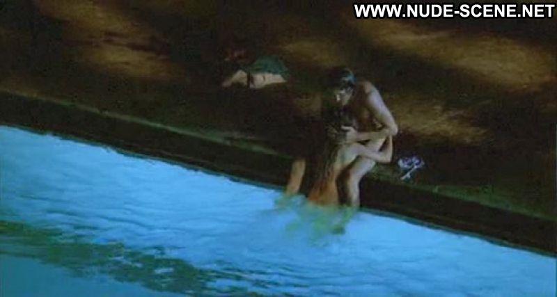 image Ludivine sagnier nude in water drops on burning rocks 1