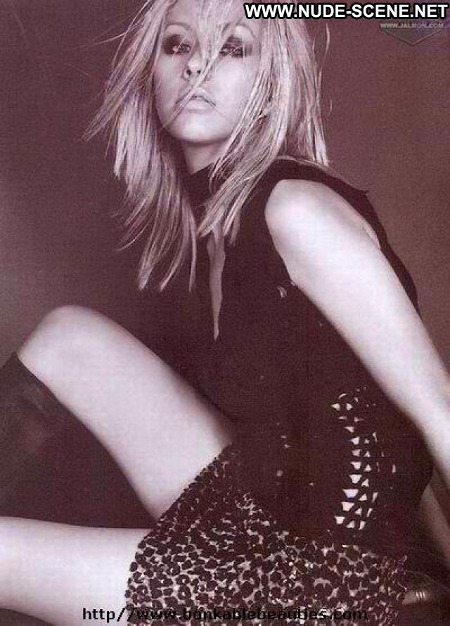 Christina Aguilara No Source Nude Blonde Babe Hot Singer Celebrity