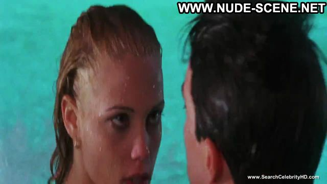 Elizabeth Berkley Nude Sexy Scene Showgirls Pool Beautiful