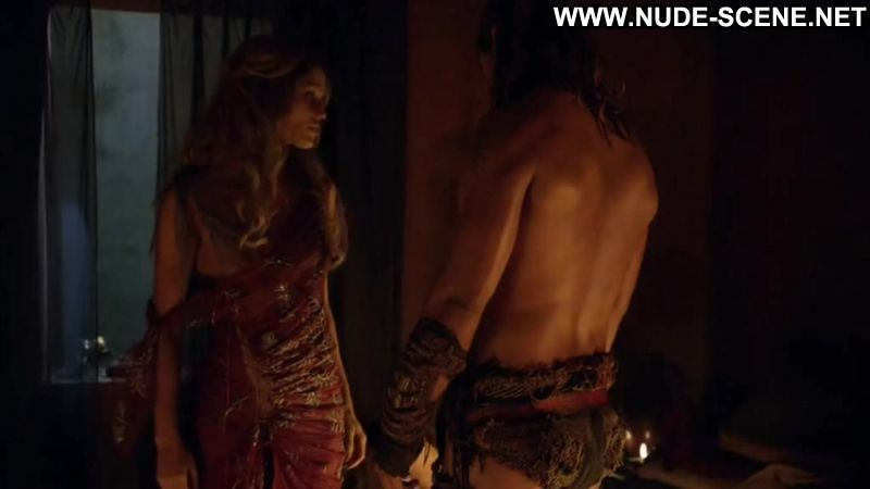 Laura Surrich Nude Sex Scene From Spartacus Color
