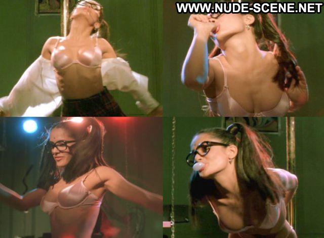 Salma Hayek Dogma Pole Dance Celebrity Nude Scene Actress