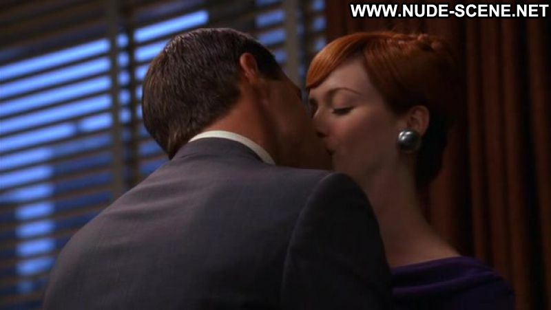 christina hendricks sex scene