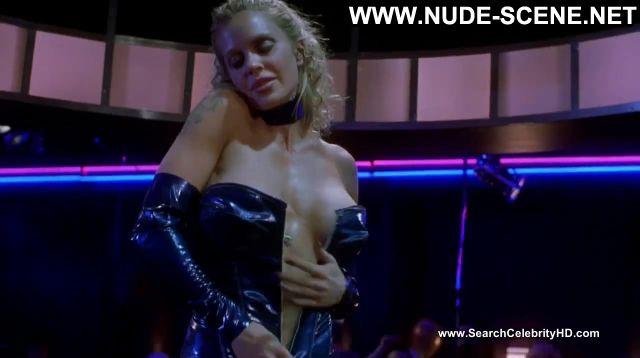 Kristin Bauer Dancing At The Blue Iguana Leather Topless Hot