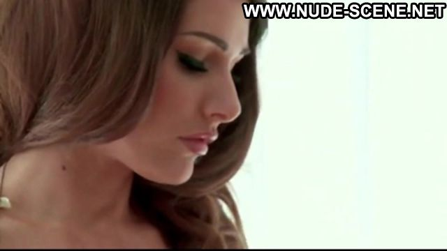 Lucy Pinder Cardigan Photoshoot Brown Hair Topless Big Tits