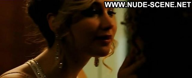 Jennifer Lawrence Nude Sexy Scene American Hustle Sexy Dress