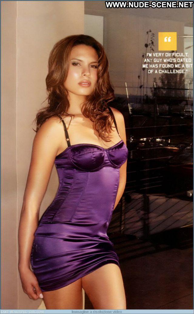 Nadine Velazquez No Source Nude Lingerie Latina Celebrity Babe Posing