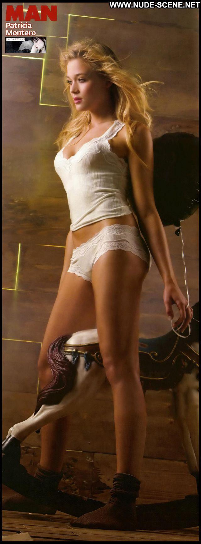 Patricia Montero No Source Cute Celebrity Blonde Posing Hot Celebrity