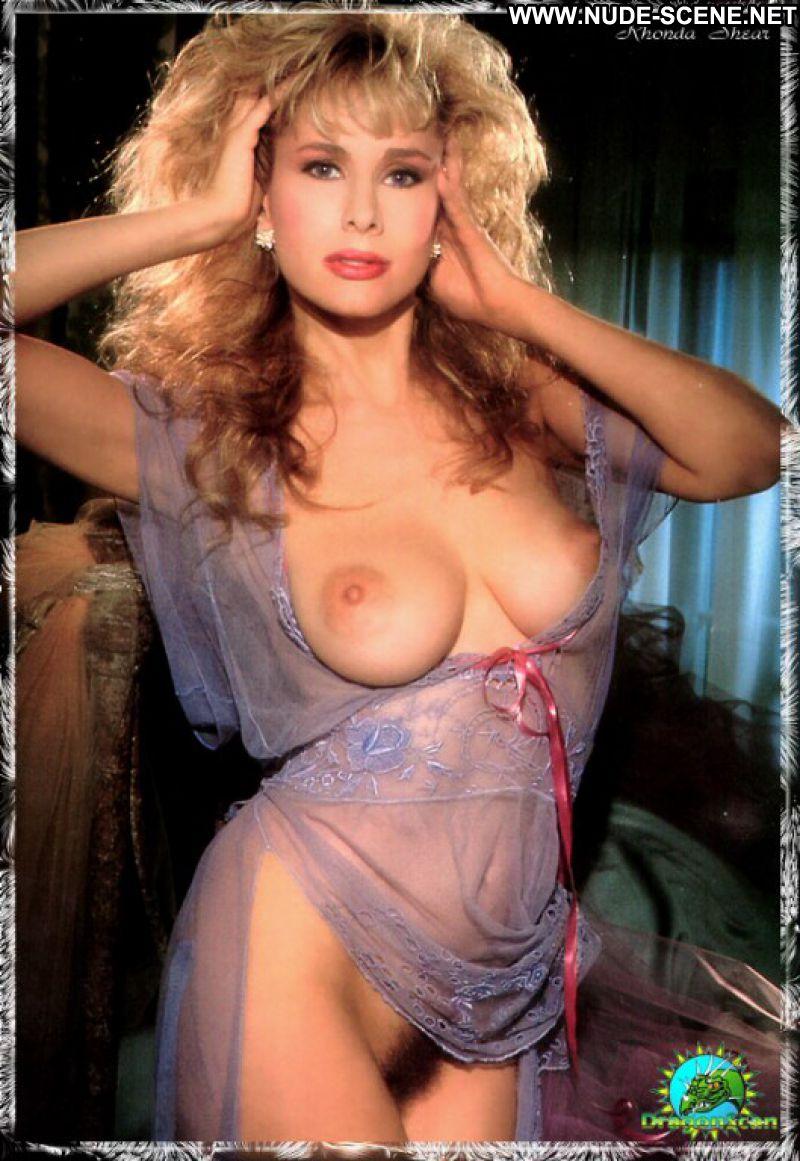 Rhonda Shear No Source Celebrity Posing Hot Babe Big Tits -9050