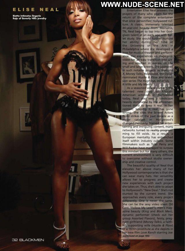 Elise Neal No Source Ebony Celebrity Posing Hot Nude Nude Scene