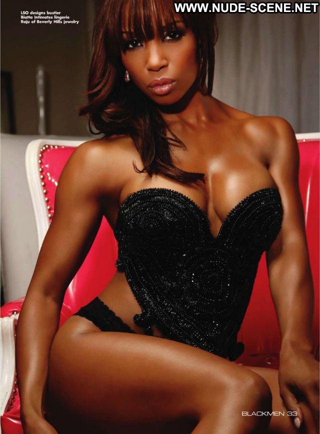 Elise Neal No Source Lingerie Nude Cute Posing Hot Celebrity Ebony