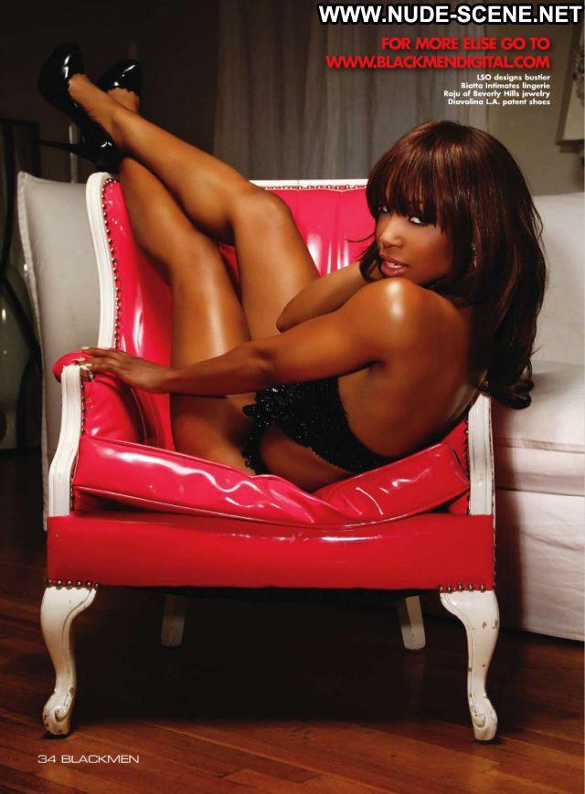 Elise Neal No Source  Hot Posing Hot Nude Ebony Lingerie Celebrity