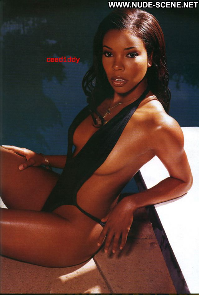 Gabrielle Union No Source Posing Hot Nude Cute Nude Scene Babe Big