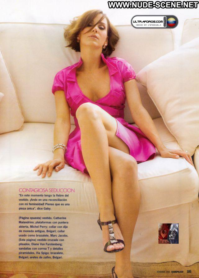 Gaby Vergara No Source  Hot Celebrity Nude Scene Brown Hair Venezuela