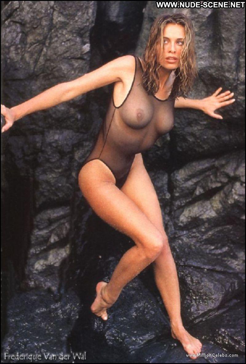 Hot blonde posing in latex 8