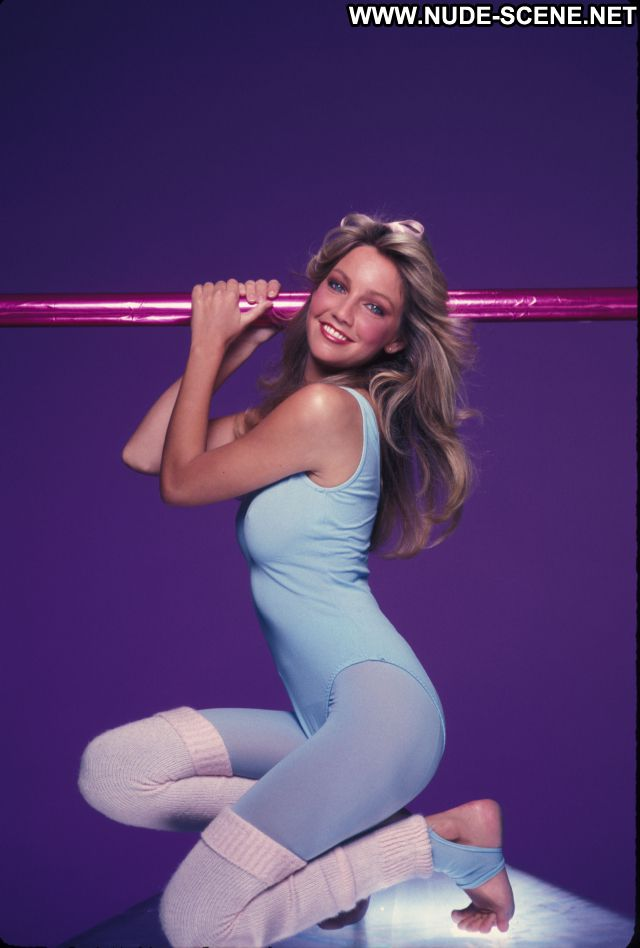 Heather Locklear Nude Sexy Scene Gym Clothes Spandex Workout