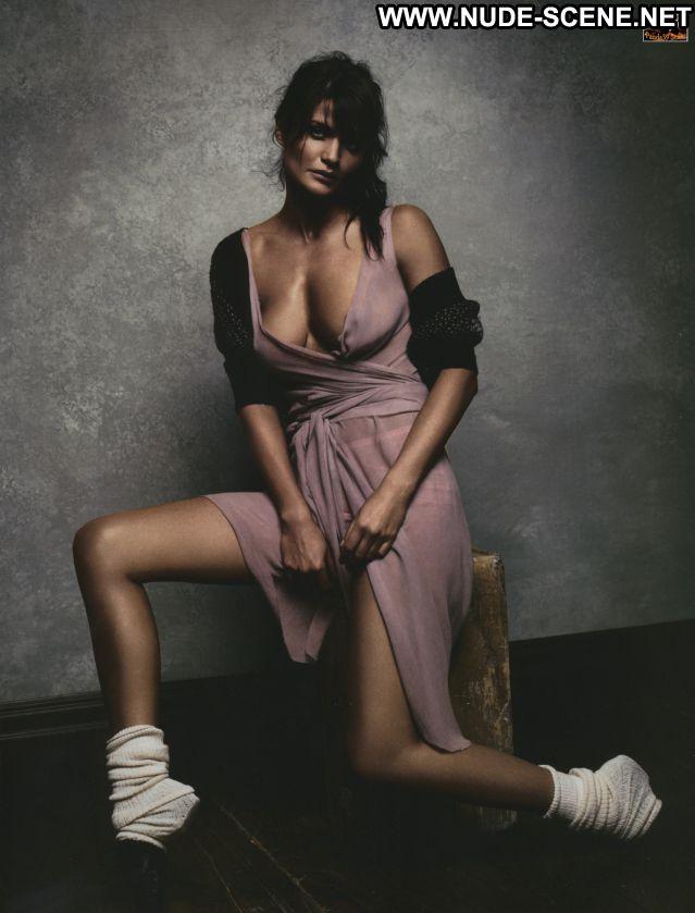 Helena Christensen Brunette Nude Scene Cute Babe Hot Posing Hot