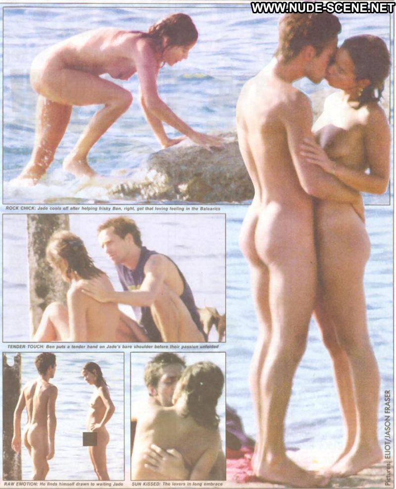 Jade Jagger  nackt