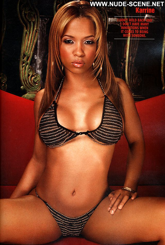 Karrine Steffans No Source Babe Posing Hot Big Tits Nude Celebrity