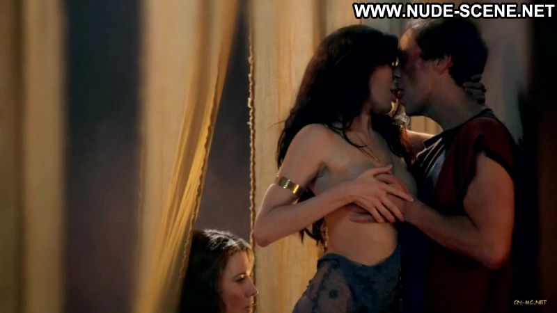 Jaime murray and lucy lawless threesome 5