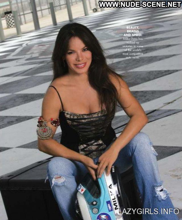 Milka Duno No Source  Brunette Venezuela Cute Latina Hot Celebrity