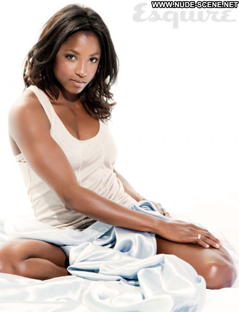 Rutina Wesley No Source Celebrity Posing Hot Babe Ebony