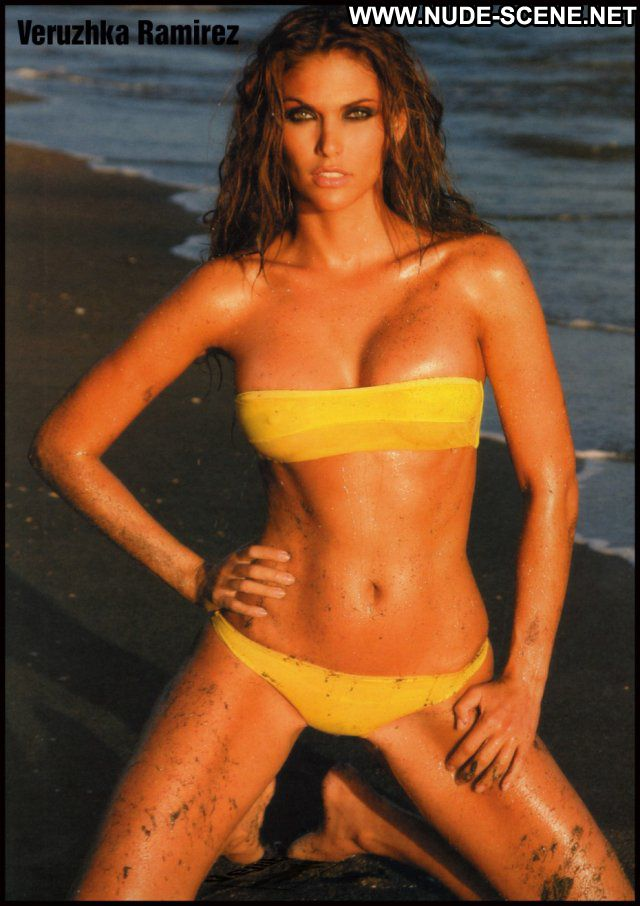 Veruzhka Ramirez No Source Posing Hot Celebrity Latina Babe Nude
