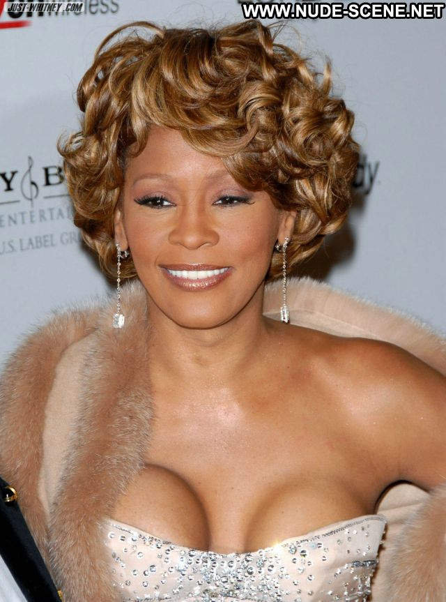 Whitney Houston No Source Singer Nude Cute Sexy Dress Ebony Celebrity
