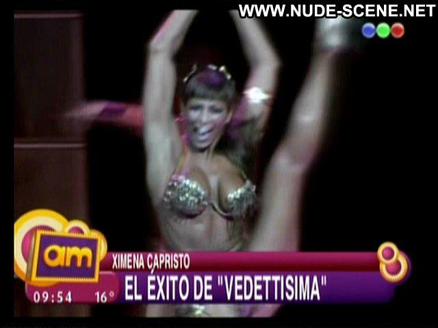 Ximena Capristo No Source Dancing Celebrity Big Tits Posing Hot Babe