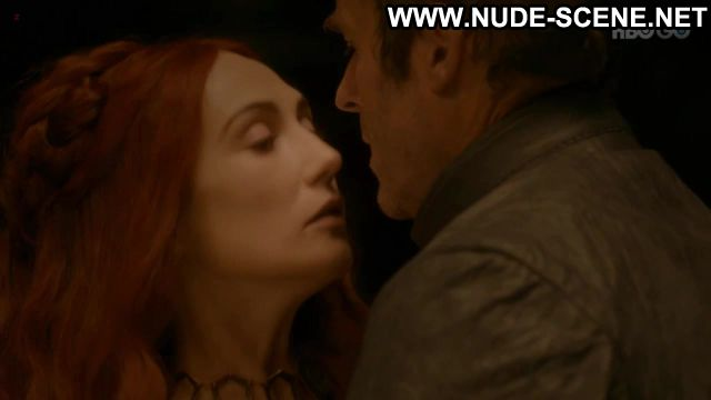 Carice Van Houten Nude Sexy Scene Game Of Thrones Redhead