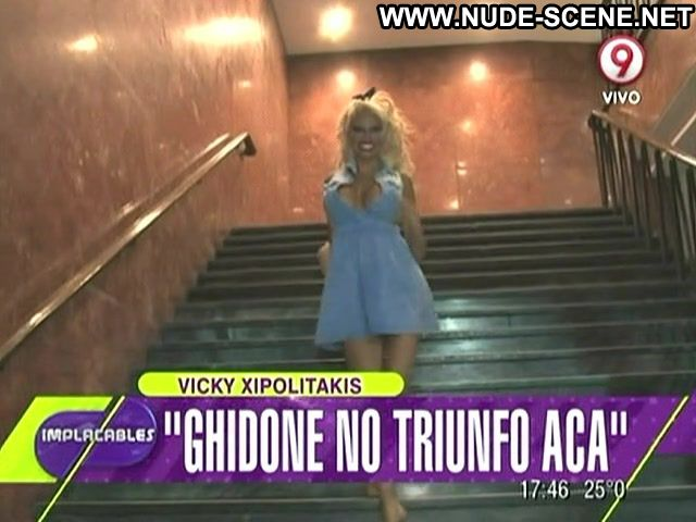 Vicky Xipolitakis Nude Sexy Scene Implacables Stairs Big Ass