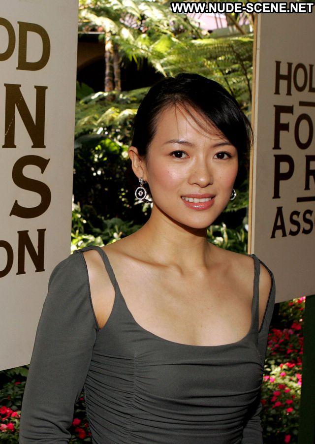 Zhang Ziyi No Source  Hot Celebrity Sexy Dress Posing Hot Nude Babe