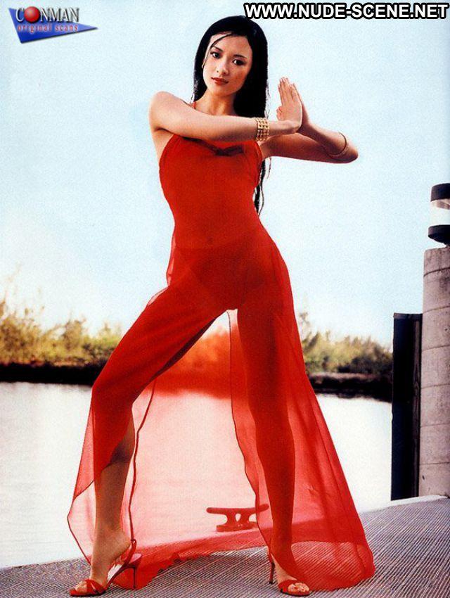 Zhang Ziyi No Source Hot Posing Hot Asian Celebrity Sexy Dress Babe