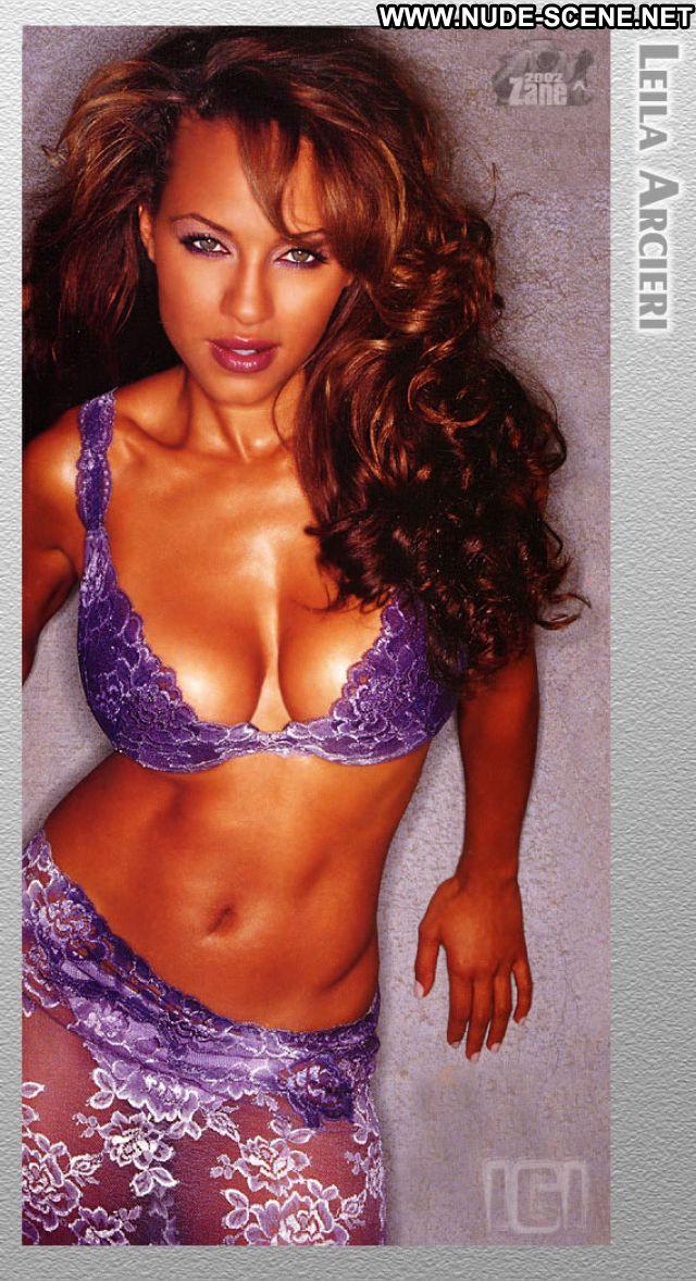 Leila Arcieri No Source Nude Scene Nude Celebrity Ebony Lingerie