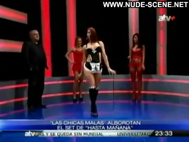 Chicas Malas Hasta Manana Tv Show Lingerie Uniform Big Ass