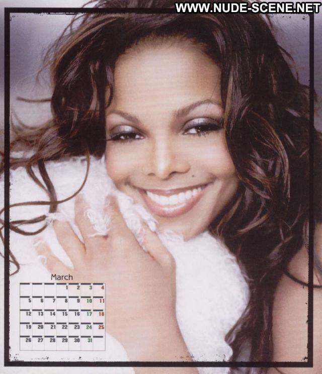 Janet Jackson No Source Celebrity Ebony Babe Posing Hot Bikini Hot