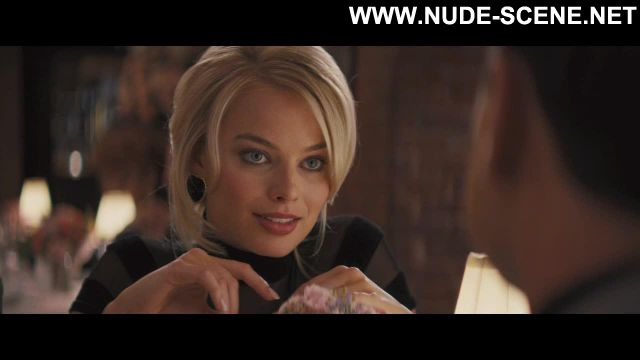 Margot Robbie The Wolf Of Wall Street Showing Tits Famous