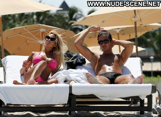 Shauna Sand Playmate Bikini Huge Tits Blonde Showing Tits