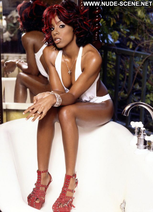 Kelly Rowland No Source Lingerie Singer Cute Celebrity Posing Hot